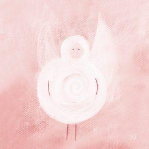 Ängel rosa